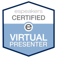 WE'RE CERTIFIED E VIRTUAL PRESENTERS